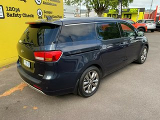 2015 Kia Carnival YP MY15 Platinum Blue 6 Speed Sports Automatic Wagon