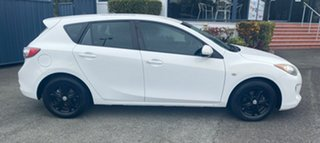 2012 Mazda 3 BL10F2 Neo White 6 Speed Manual Hatchback.