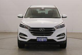 2015 Hyundai Tucson TLE Elite 2WD Polar White 6 Speed Sports Automatic Wagon.