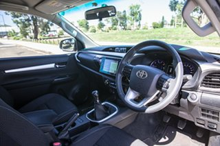 2017 Toyota Hilux GUN126R SR5 Extra Cab White 6 Speed Manual Utility