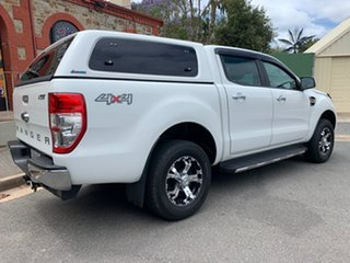 2016 Ford Ranger PX MkII XLT Double Cab White 6 Speed Sports Automatic Utility.