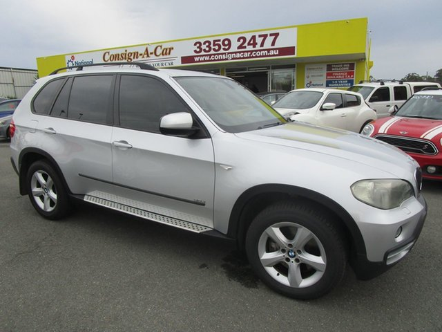 Used BMW X5 E70 d Steptronic Kedron, 2007 BMW X5 E70 d Steptronic Silver 6 Speed Sports Automatic Wagon