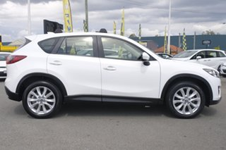 2012 Mazda CX-5 KE1021 Grand Touring SKYACTIV-Drive AWD Snow White Pearl 6 Speed Sports Automatic