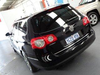 2009 Volkswagen Passat Type 3C MY10 125TDI DSG Black 6 Speed Auto Sportshift Wagon