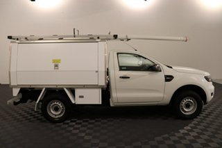 2016 Ford Ranger PX MkII XL White 6 speed Automatic Cab Chassis