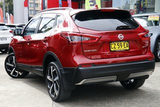 2018 Nissan Qashqai J11 Series 2 N-TEC X-tronic Burgundy 1 Speed Constant Variable Wagon.