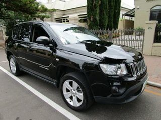 2012 Jeep Compass MK MY12 Sport (4x2) Black Continuous Variable Wagon.