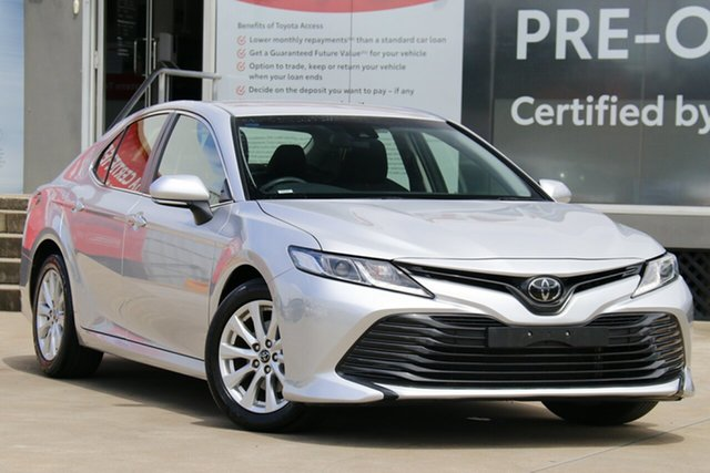 Pre-Owned Toyota Camry ASV70R Ascent Guildford, 2019 Toyota Camry ASV70R Ascent Silver 6 Speed Automatic Sedan