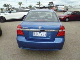 2009 Holden Barina TK MY09 Blue 5 Speed Manual Sedan