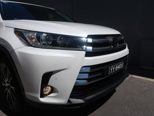 2018 Toyota Kluger GSU50R Grande 2WD White 8 Speed Sports Automatic Wagon