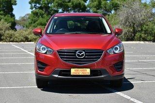 2017 Mazda CX-5 KE1032 Maxx SKYACTIV-Drive i-ACTIV AWD Red 6 Speed Sports Automatic Wagon.