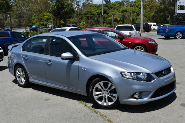 Used Ford Falcon FG XR6 Underwood, 2008 Ford Falcon FG XR6 Silver 5 Speed Auto Seq Sportshift Sedan