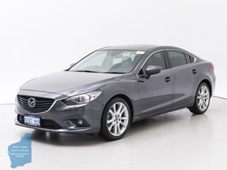 2013 Mazda 6 6C Atenza Grey 6 Speed Automatic Sedan.