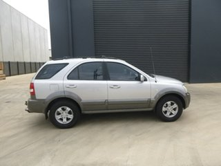 2006 Kia Sorento BL EX Silver Sports Automatic Wagon.