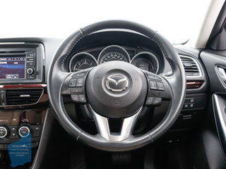 2013 Mazda 6 6C Atenza Grey 6 Speed Automatic Sedan