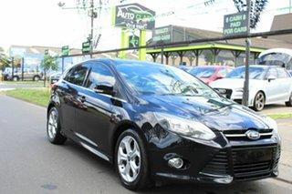 2012 Ford Focus LW MkII Sport Black 5 Speed Manual Hatchback