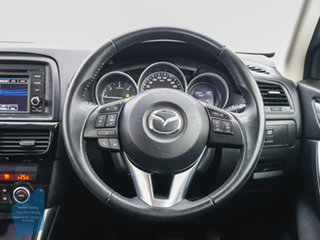 2012 Mazda CX-5 Maxx Sport (4x4) Blue 6 Speed Automatic Wagon