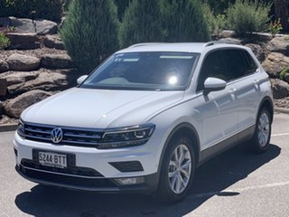 2018 Volkswagen Tiguan 5N MY18 140TDI DSG 4MOTION Highline White 7 Speed.