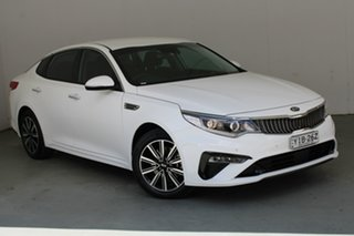 2019 Kia Optima JF MY20 SI White 6 Speed Sports Automatic Sedan.