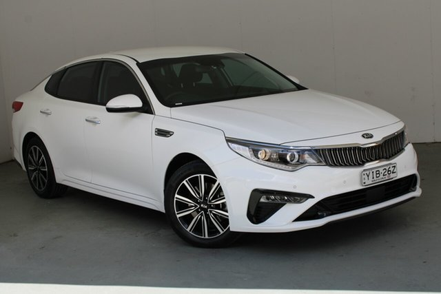 Used Kia Optima JF MY20 SI Phillip, 2019 Kia Optima JF MY20 SI White 6 Speed Sports Automatic Sedan
