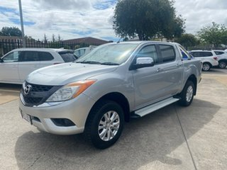 2014 Mazda BT-50 UP0YF1 XTR Silver 6 Speed Sports Automatic Utility.