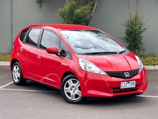 2012 Honda Jazz GE MY12 GLi Red 5 Speed Automatic Hatchback.