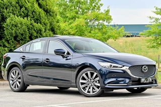 2019 Mazda 6 GL1032 Atenza SKYACTIV-Drive Deep Crystal Blue 6 Speed Sports Automatic Sedan.