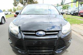 2012 Ford Focus LW MkII Sport Black 5 Speed Manual Hatchback.
