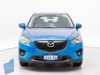 2012 Mazda CX-5 Maxx Sport (4x4) Blue 6 Speed Automatic Wagon.