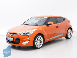 2012 Hyundai Veloster FS Orange 6 Speed Manual Coupe.