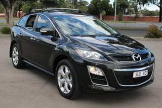 2010 Mazda CX-7 ER MY10 Luxury Sports (4x4) Black 6 Speed Auto Activematic Wagon.