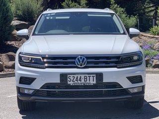 2018 Volkswagen Tiguan 5N MY18 140TDI DSG 4MOTION Highline White 7 Speed.