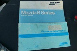 1997 Mazda Bravo B2500 DX White 5 Speed Manual Cab Chassis