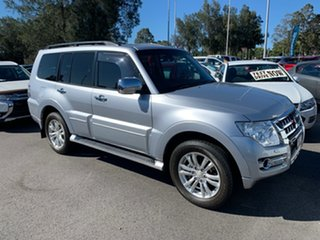 2014 Mitsubishi Pajero NX MY15 Exceed Silver 5 Speed Sports Automatic Wagon.