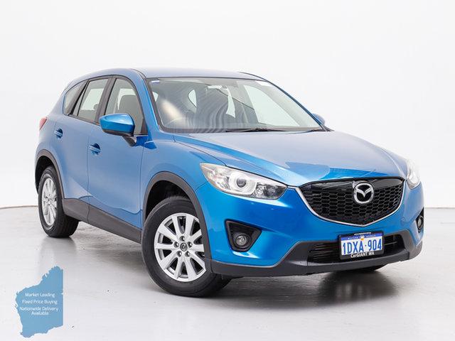 Used Mazda CX-5  Maxx Sport (4x4), 2012 Mazda CX-5 Maxx Sport (4x4) Blue 6 Speed Automatic Wagon