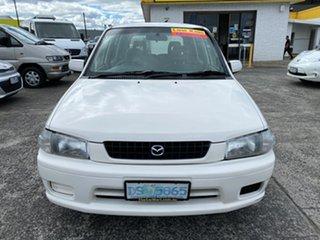 1998 Mazda 121 DW1031 Metro White 5 Speed Manual Hatchback.