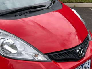 2012 Honda Jazz GE MY12 GLi Red 5 Speed Automatic Hatchback
