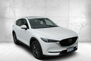 2017 Mazda CX-5 KE1032 Akera SKYACTIV-Drive i-ACTIV AWD White 6 Speed Sports Automatic Wagon.