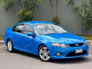 2008 Ford Falcon FG XR6 Blue 6 Speed Sports Automatic Sedan.