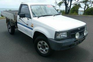 1997 Mazda Bravo B2500 DX White 5 Speed Manual Cab Chassis.