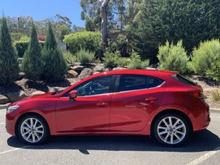 2017 Mazda 3 BN5438 SP25 SKYACTIV-Drive Red/Black 6 Speed Sports Automatic Hatchback