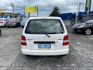 1998 Mazda 121 DW1031 Metro White 5 Speed Manual Hatchback