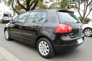 2004 Volkswagen Golf V Trendline Tiptronic Black 6 Speed Sports Automatic Hatchback.