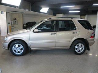 2003 Mercedes-Benz M-Class W163 MY04 ML270 CDI Luxury Gold 5 Speed Sports Automatic Wagon