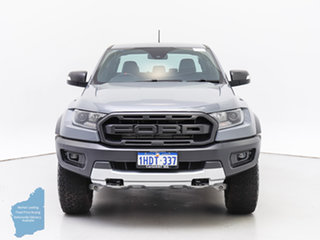 2018 Ford Ranger PX MkIII MY19 Raptor 2.0 (4x4) Grey 10 Speed Automatic Double Cab Pick Up.