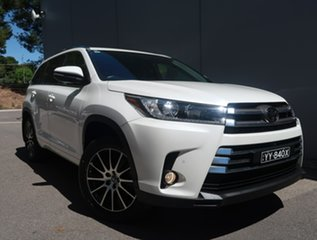 2018 Toyota Kluger GSU50R Grande 2WD White 8 Speed Sports Automatic Wagon.