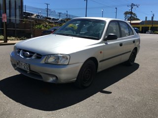 2001 Hyundai Accent LC GL Silver 4 Speed Automatic Hatchback