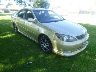 2002 Toyota Camry MCV36R Sportivo Gold 4 Speed Automatic Sedan.