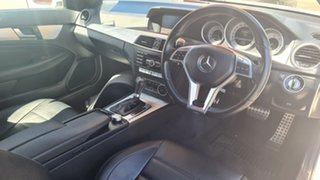 2013 Mercedes-Benz C-Class C204 MY13 C250 CDI 7G-Tronic White 7 Speed Sports Automatic Coupe