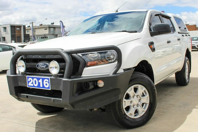 Used Ford Ranger PX MkII XL Coburg North, 2016 Ford Ranger PX MkII XL White 6 Speed Sports Automatic Utility